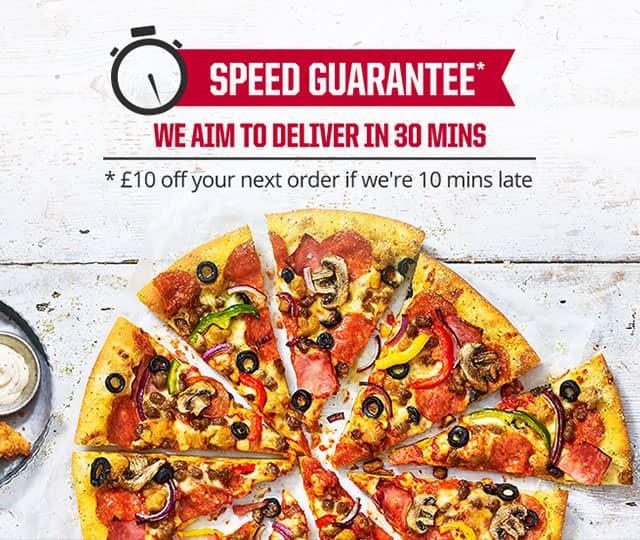 Speed Guarantee Pizza Hut Uk
